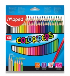 Pastelky Maped Color´Peps 48ks