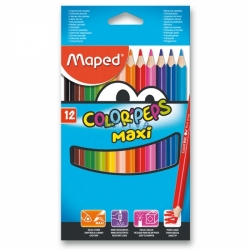 Pastelky Maped Color Peps Jumbo 12ks 202360556
