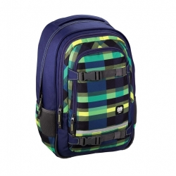 "Školní batoh All Out ""Selby"" Backpack, Summer Check Green + gumovací pero Pilot Frixion"