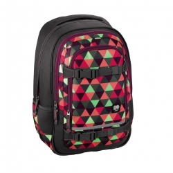 "Školní batoh All Out ""Selby"" Backpack, Happy Triangle + gumovací pero Pilot Frixion"
