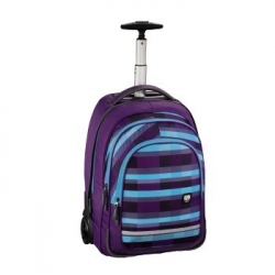 Trolley All Out, Summer Check Purple + gumovací pero Pilot Frixion