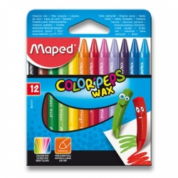 Voskovky Maped Color'Peps Wax - 12 barev