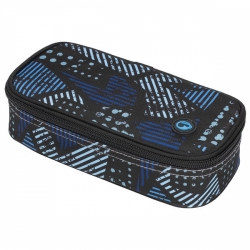 Bagmaster studentský penál CASE MONO 7 C Blue/Grey/Black