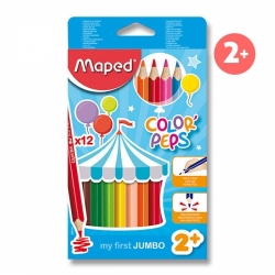 Pastelky Maped Color'Peps Jumbo 12ks 297903632