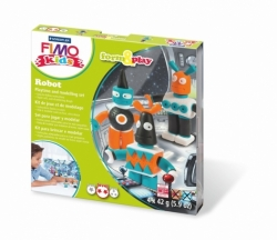 Sada Fimo kids Form & Play Roboti