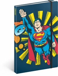 Notes Superman – Bang, linkovaný, 13 x 21 cm