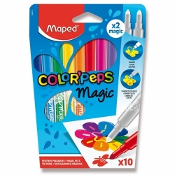 Dětské fixy Maped Color´Peps Magic - 8 + 2 kusů